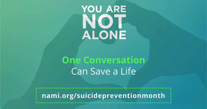 Suicide Prevention and Recovery Month